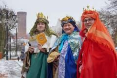 Orszak Trzech Króli w Człuchowie 2020