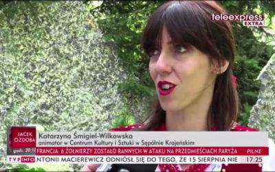 ŚNIADANIE NA TRAWIE W TV [TELEEXPRESS]