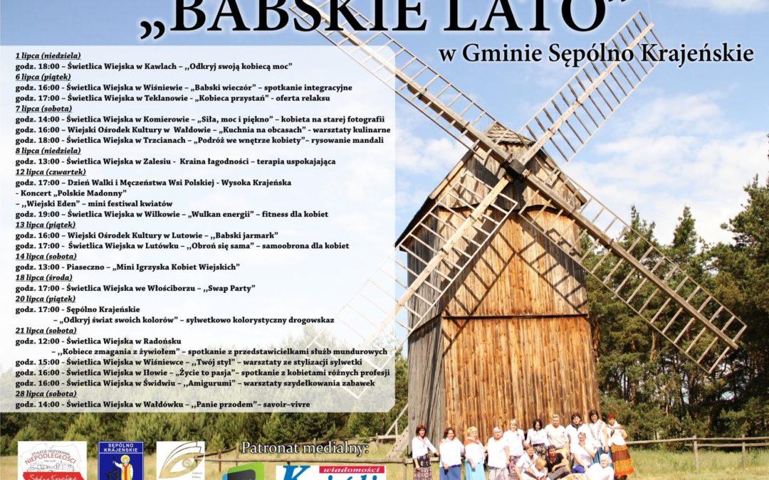 BABSKIE LATO W SĘPÓLNIE KRAJEŃSKIM