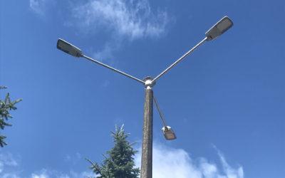 NOWE LAMPY ULICZNE W GMINIE PRZECHLEWO
