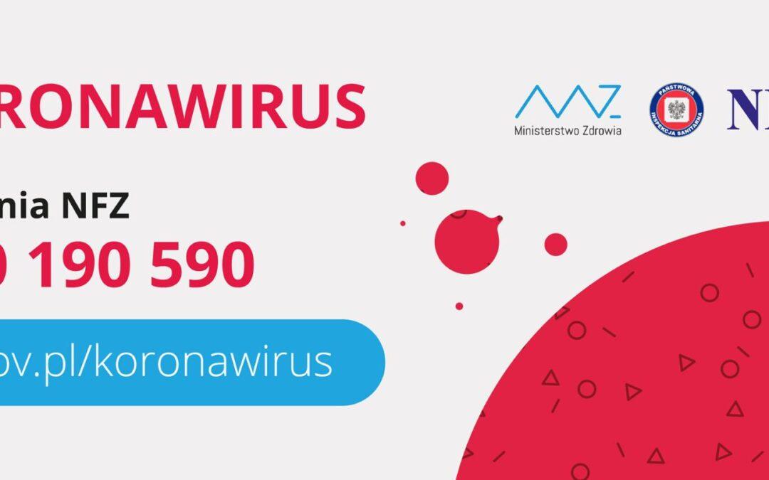 KORONAWIRUS – APEL DO MIESZKAŃCÓW