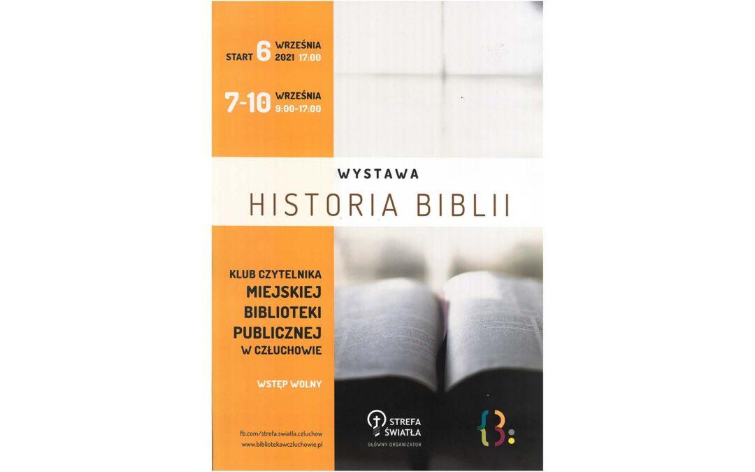 HISTORIA BIBLII W CZŁUCHOWSKIEJ BIBLIOTECE